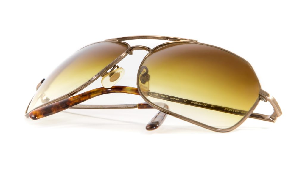 sun glasses product photography
