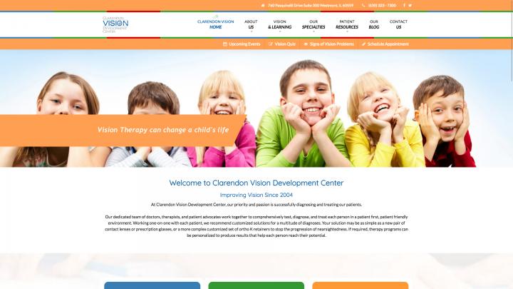 clarendon vision