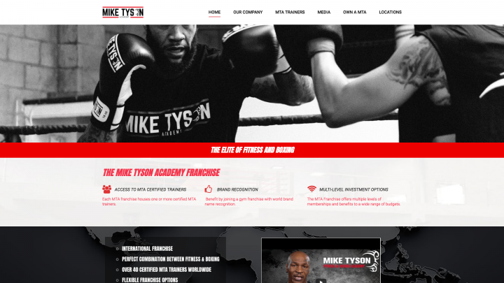 mike tyson academy screenshot