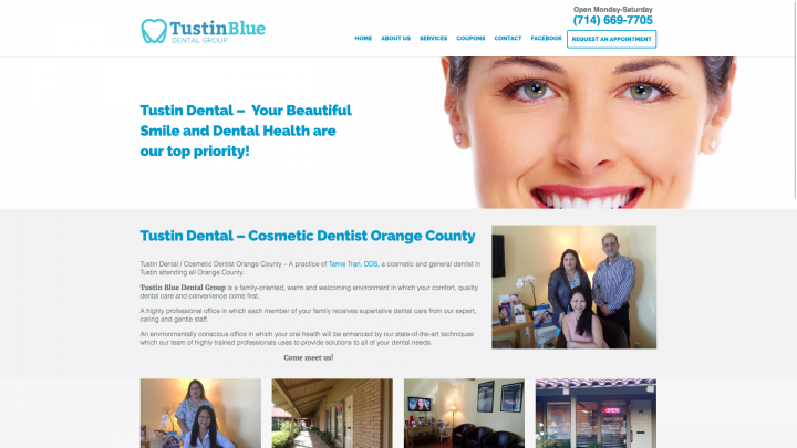 tustin blue dental